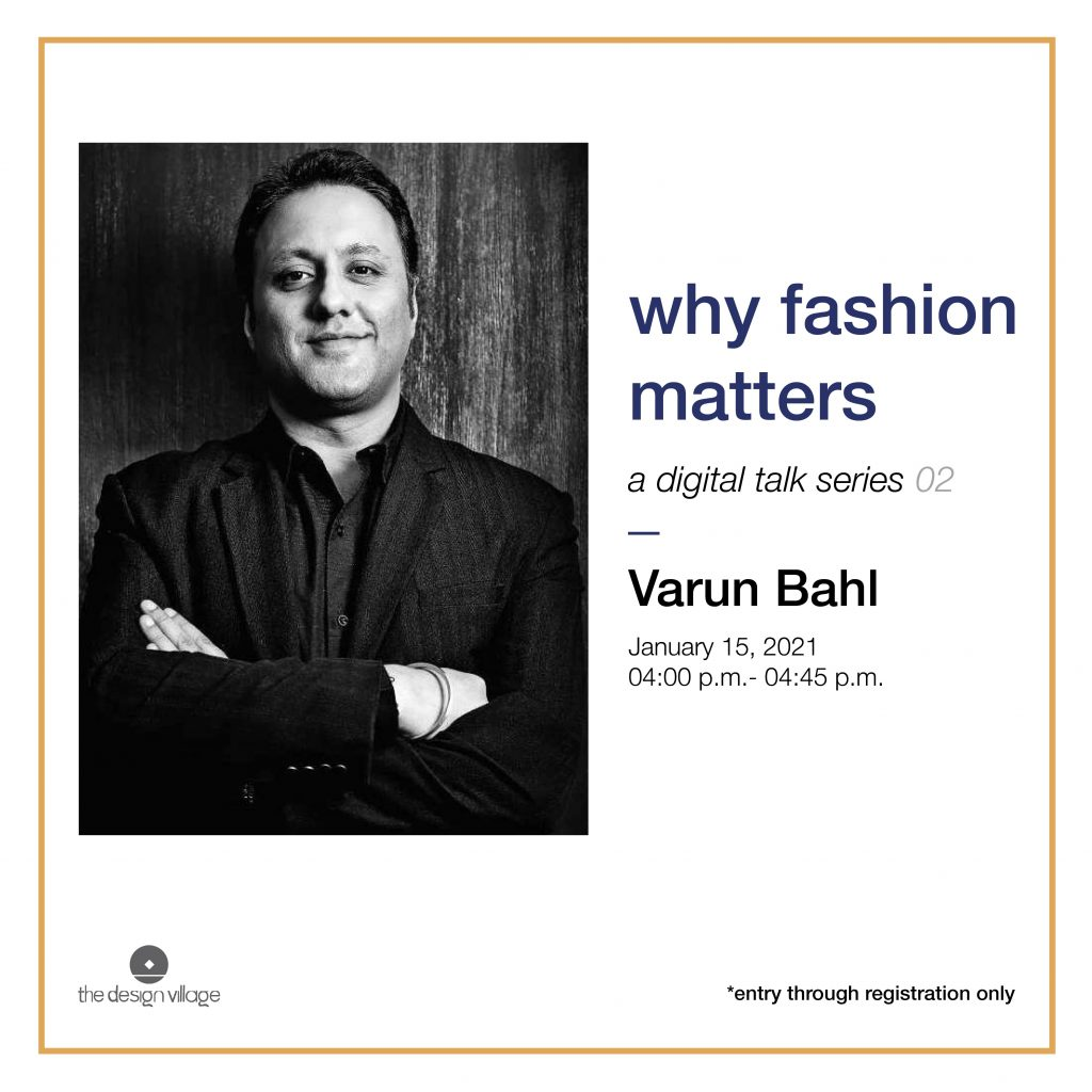 Digital Talk by Varun Bahl at The Design Village-min